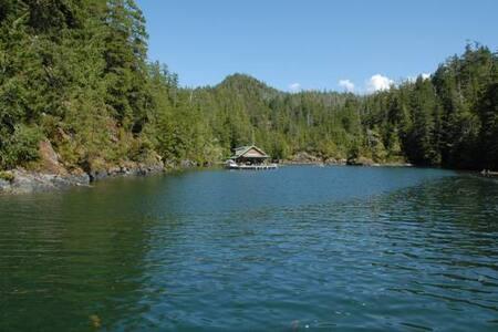 Floating Cabin off Bligh Island (Nootka Sound)
