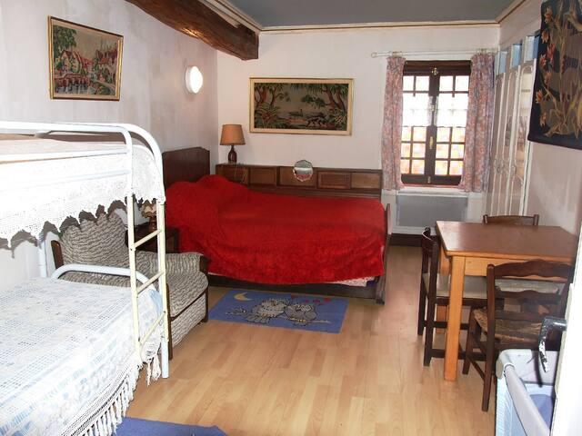 chambre familiale pour 2 ou 3 ou 4 personnes