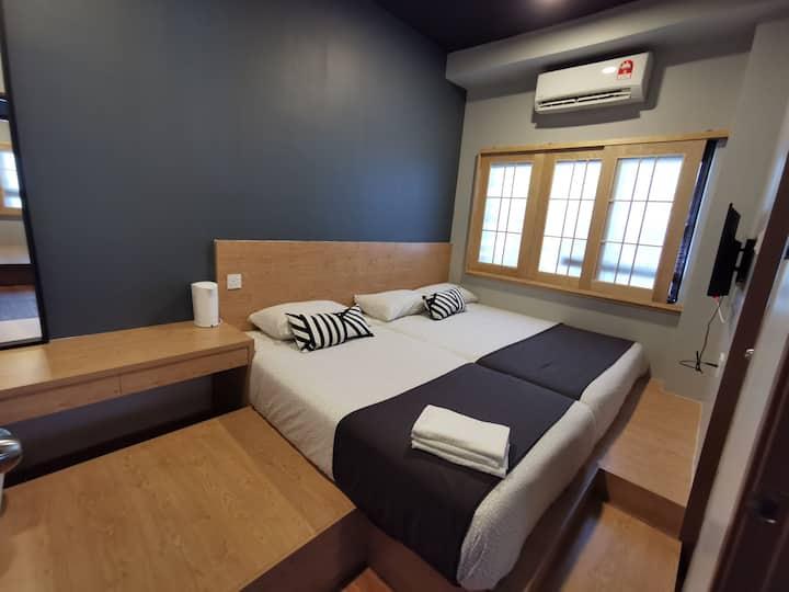 Tatami@D'Tepi Laut-Japanese Triple Room(L)-PANGKOR
