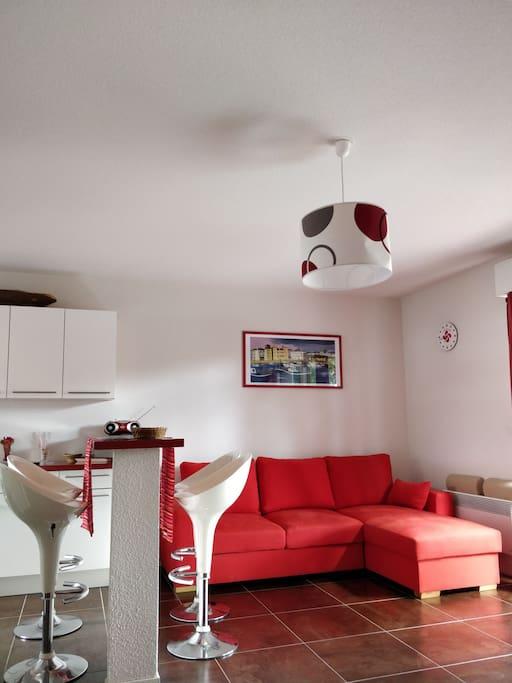 Duplex 65 m2 hyper lumineux