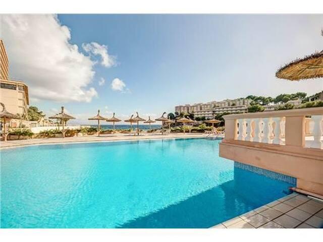 Impresionante duplex a pie de playa - Cala Vinyes - Apartemen
