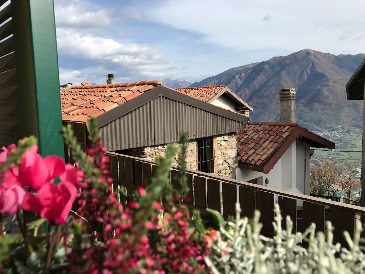 Vista su Monte Campione