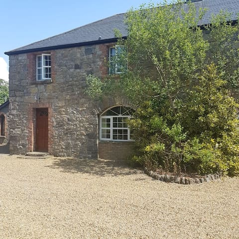 Barn conversion in a picturesque setting