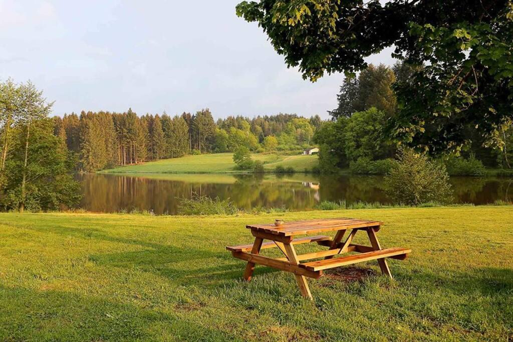 Le lac du Domaine du Balbuzard
