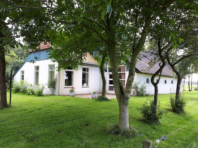B&B Sfeervol Voorhuis woonboerderij (max.5 p)