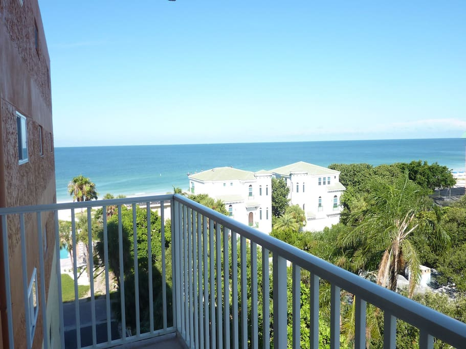 View of Gulf from balcony