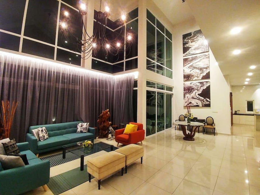La maison 100 sri hartamas bungalows for rent in kuala for Maison kuala lumpur