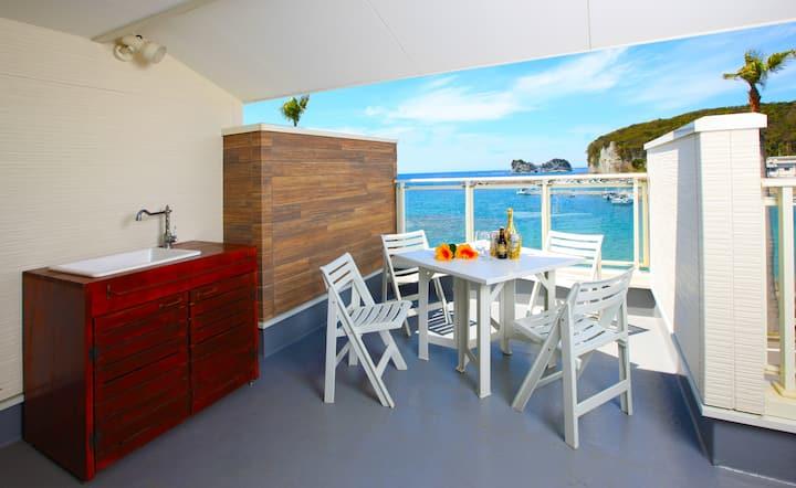 Villa★Pool & BBQ Grill★Sunning Sea view