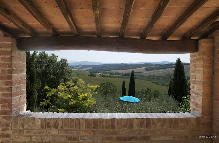 Tuscany for two in double bedroom - Buonconvento - Pousada