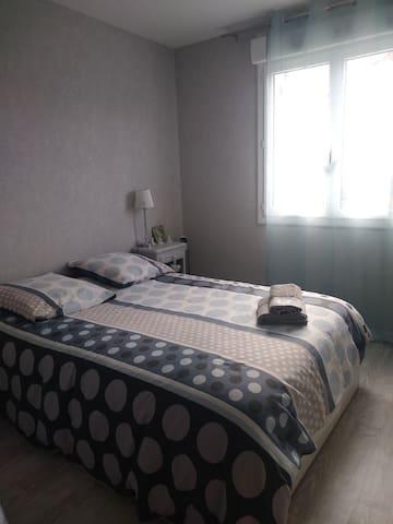 Petite chambre Cosy dans pavillon plain-pied