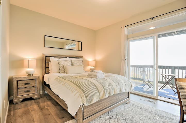 (SFO)Comfy Queen bed rm with beautiful hill view