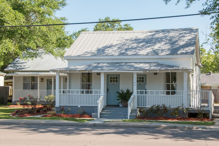 Bluewater Cottage -perfect Ocean Springs location!