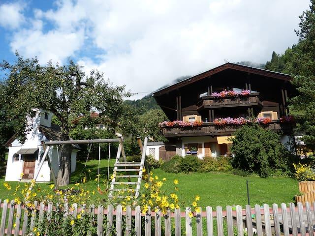 Ferienwohnung am Bio-Bauernhof - Tresdorf - 公寓