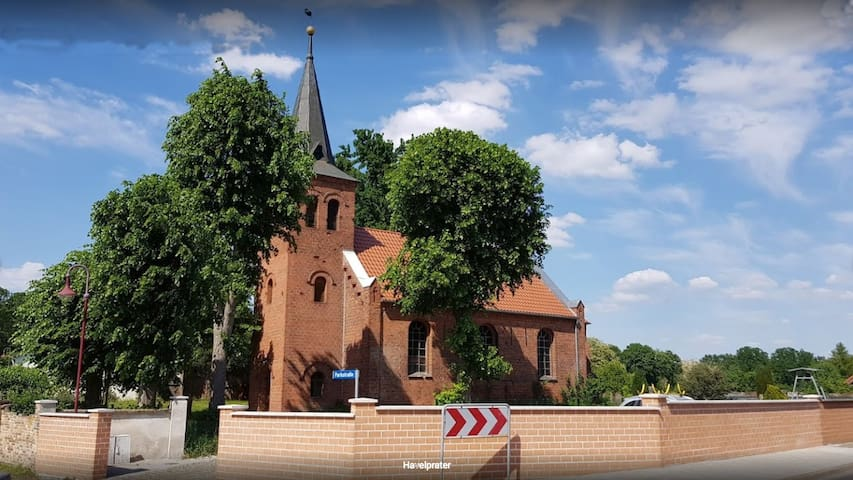 holiday in prussian village church