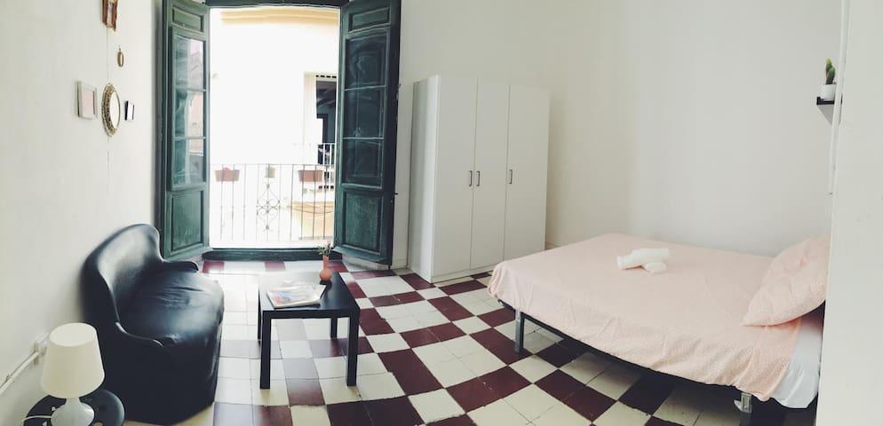 Habitación en el centro histórico de Málaga 3 - Málaga - Rumah