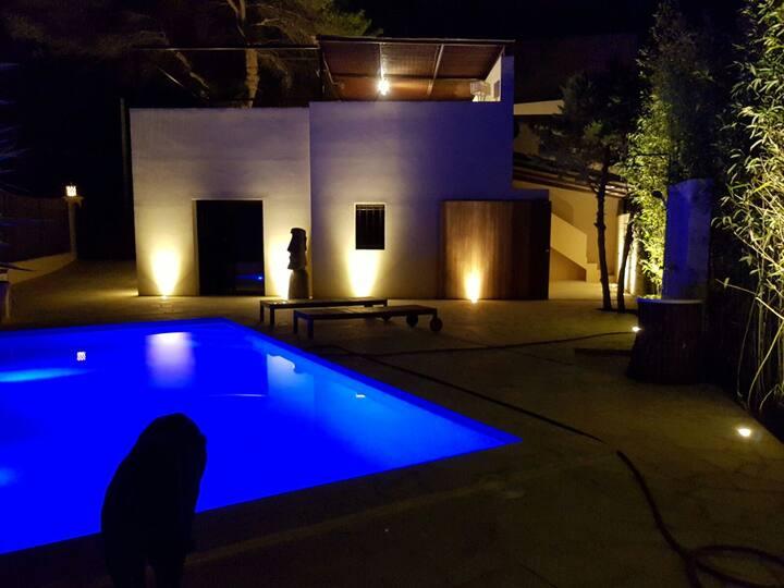 Luxury villa ibiza with sea view