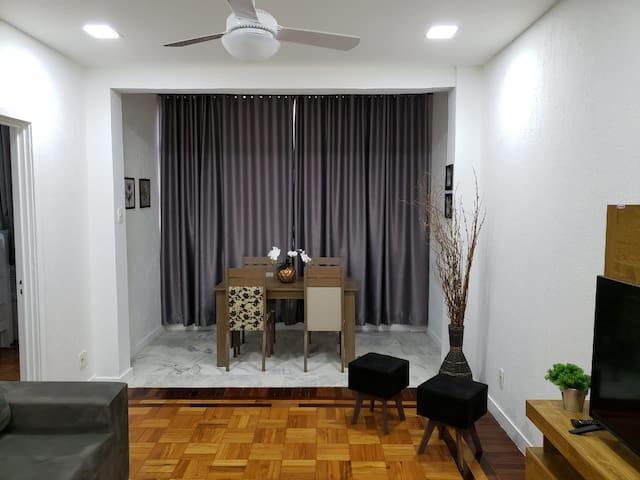 Apartamento Inteiro na melhor parte de Copacabana