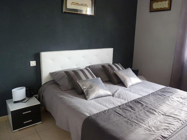 Grand appartement rénové en Pays Catalan