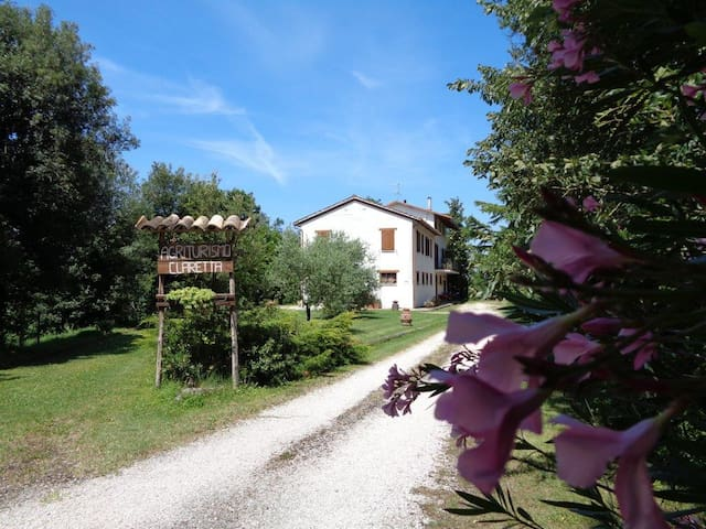 Agriturismo Claretta-Urbino-Nel cuore della natura
