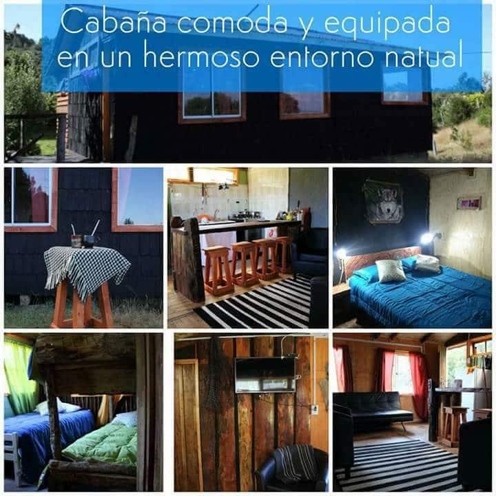Refugio del Bosque Patagonia, Cabaña equipada 5