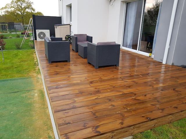 Terrasse disponible