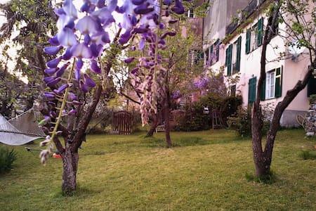 studio apartment with garden - Genua - Dom