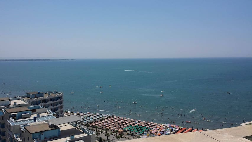Nice apartment with Adriatic Sea view in Shengjin - Shëngjin - Apartment