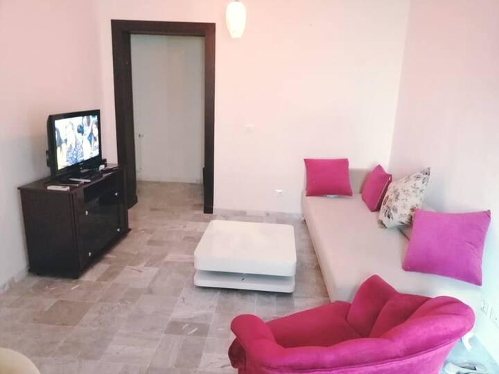 coquet appartement S+1 à EZZAHRA