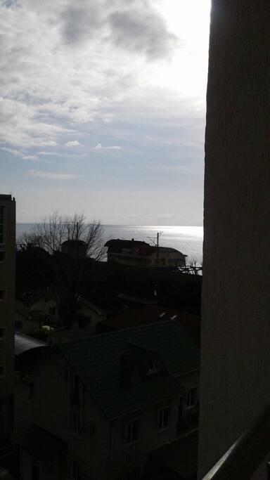 Вид на море! (До пляжа 100 метров)
