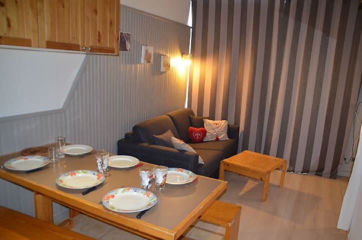 Nice apartment with fitted kitchen in Les Ménuires