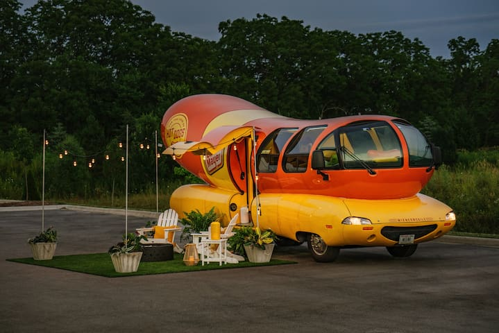 Relish a Stay in the Real Oscar Mayer Wienermobile