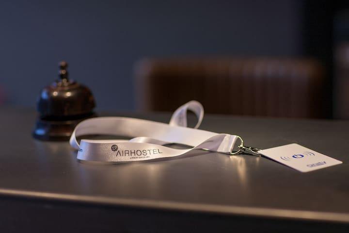 Reception Airhostel
