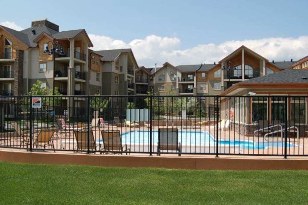 Pool is open I the summer and hot tubs all year round.