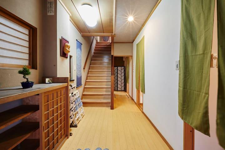 10 ROOMS! TRAD STYLE HOUSE NEAR SKYTREE! FREE WIFI - Sumida-ku - House
