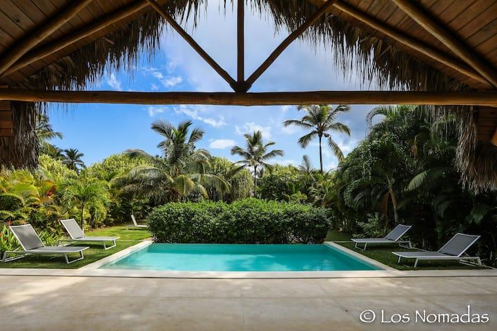 Tropical villa 3 bedrooms Los Nomadas Playa Coson