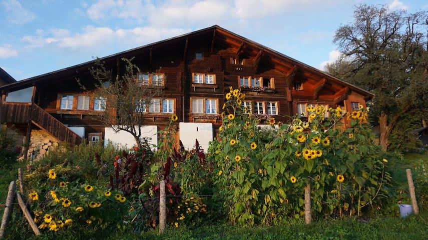 Hasliberger Haus mit wunderschöner Aussicht