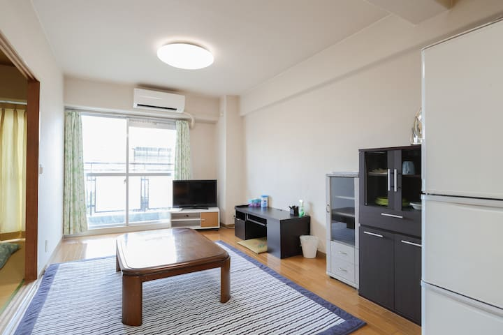 Good Location! With Unlimited Wifi! - 堺市堺区 - Appartement