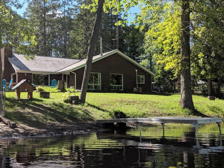 Deer River Retreat.