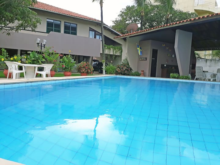 Cumbuco Beach - Big house, spacious garden, pool