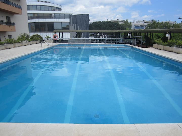 Playa de Aro centro con piscina