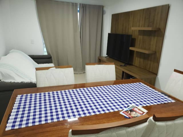 Apartamento Novo a 400 mts da praia de Bombas.