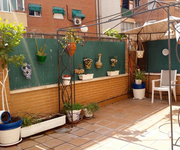 Apartment with garden - Heating & air conditioning
