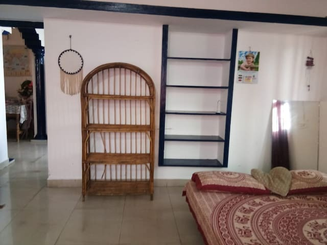 One bedroom with wifi and AC