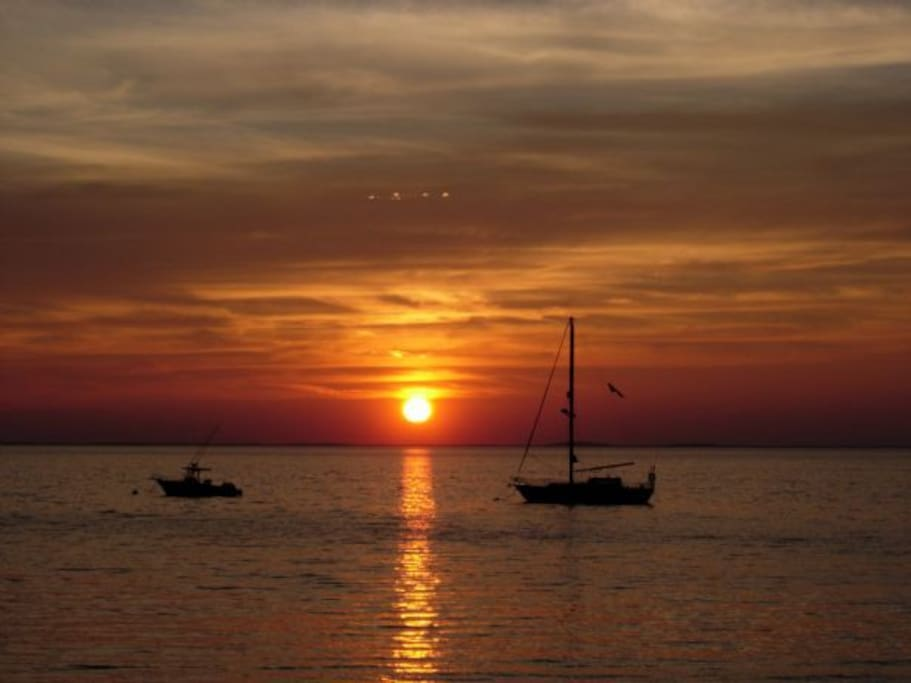 Beautiful sunsets just 5 min away