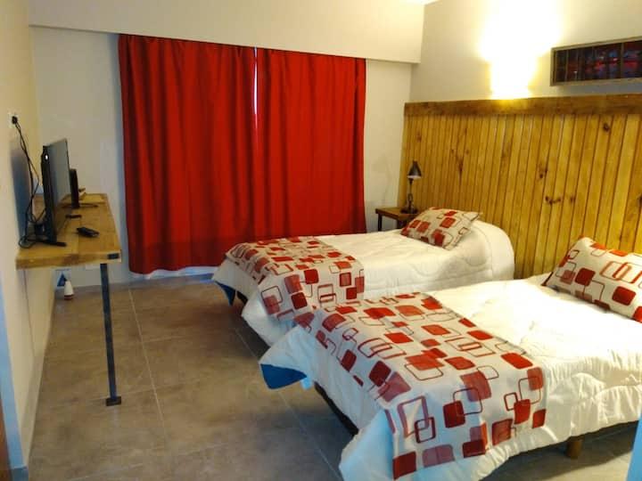 Habitaciones twin con baño privado