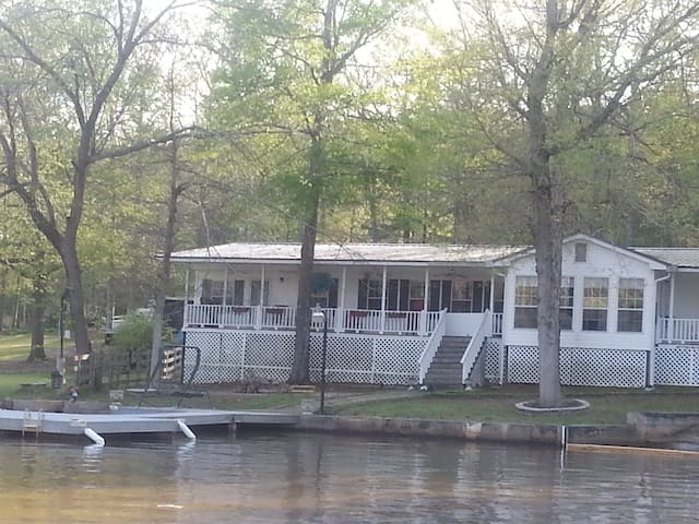4BR/2BA Lakefront Home With Ramp/Dock/Pontoon - Jackson - Casa