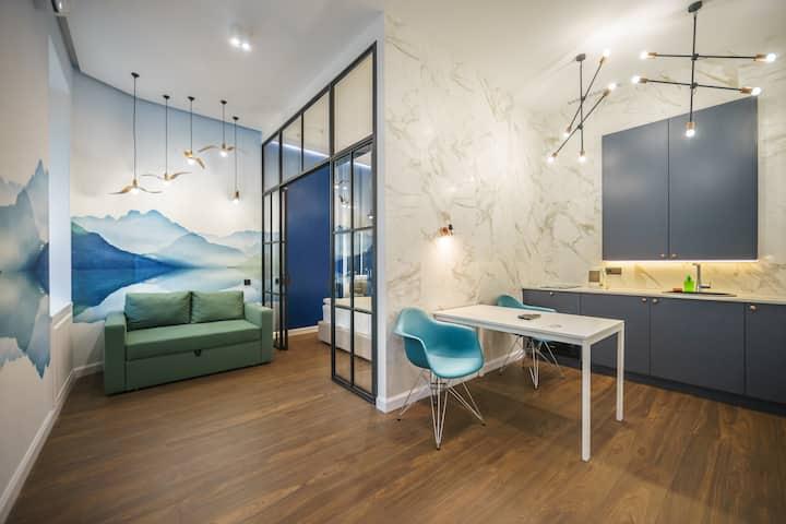 Super Tidy Apartment In Lva Tolstogo Square ID 919