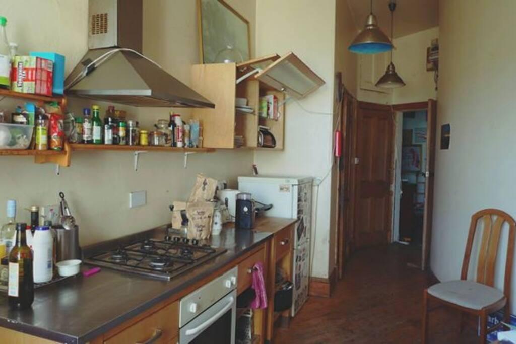 The common kitchen
