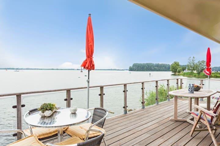 Water Villa, Great Views, Sauna, near Amsterdam