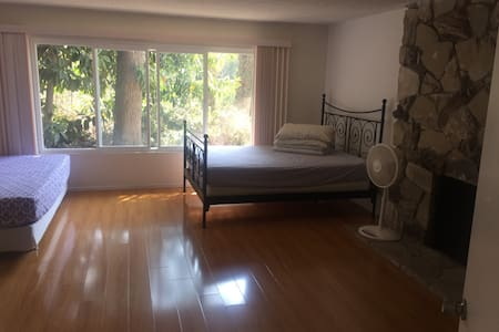 Huge master bedroom(private bath) E'' daily lease - La Habra Heights